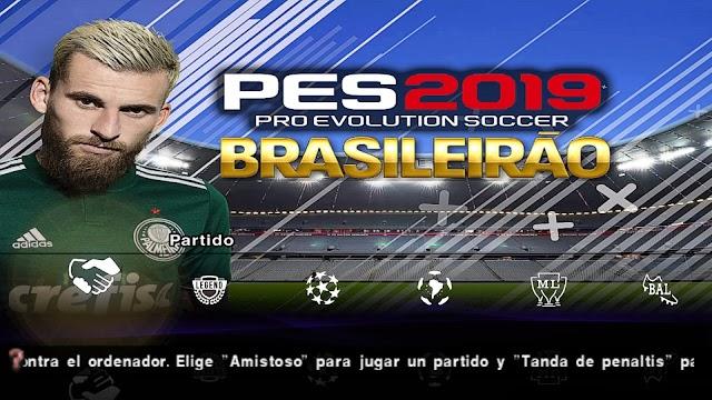 BAIXAR Pes 2019 Lite PPSSPP & PSP Times BRASILEIROS Atualizados
