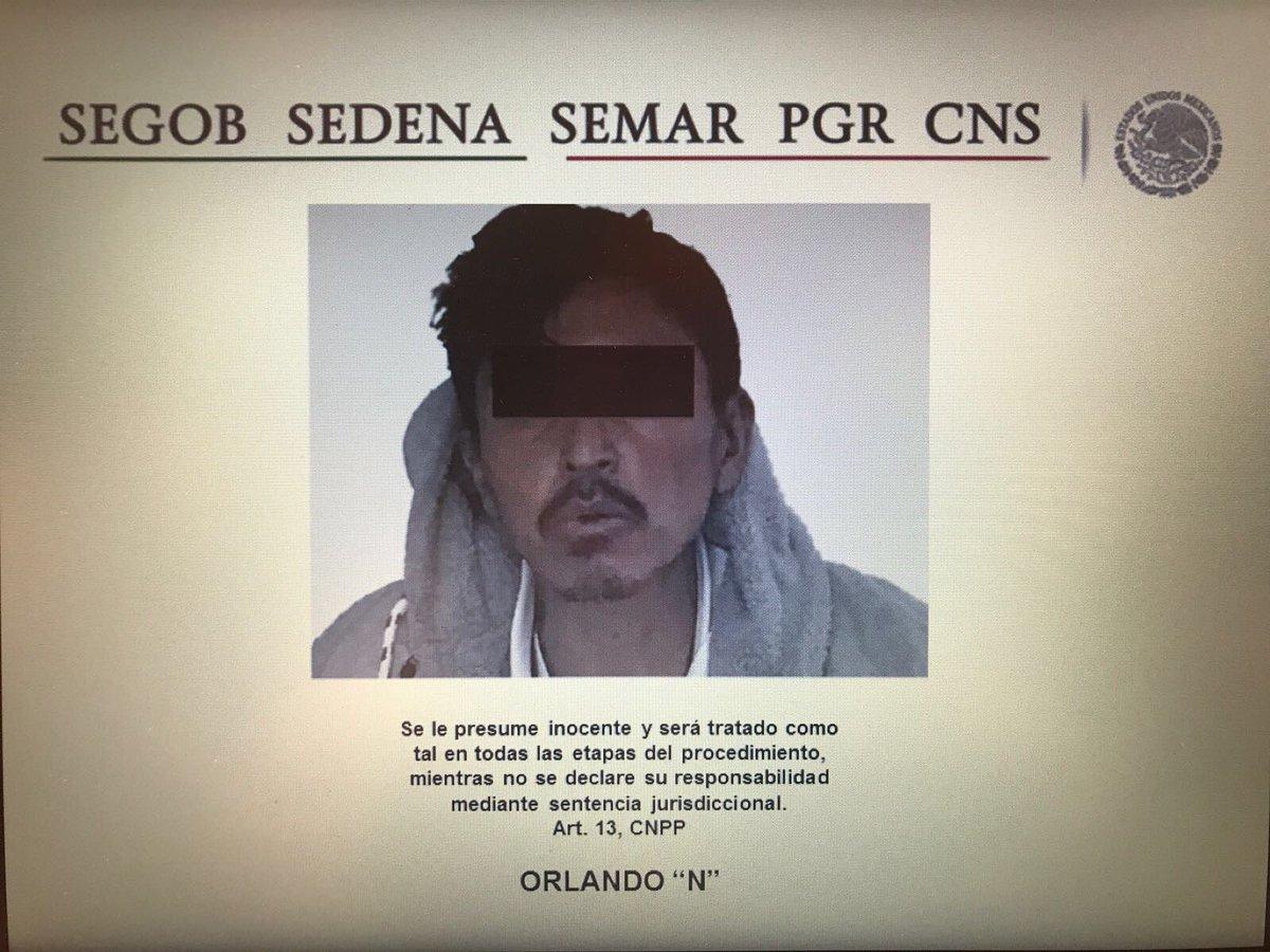 """Cayó """"El Chivo"""" lider de 'Los Xolalpa' en Moyotzingo, confirmada su detención."""