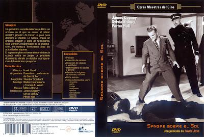 Cover, dvd, carátula: Sangre sobre el Sol | 1945 | Blood on the Sun / Descargar
