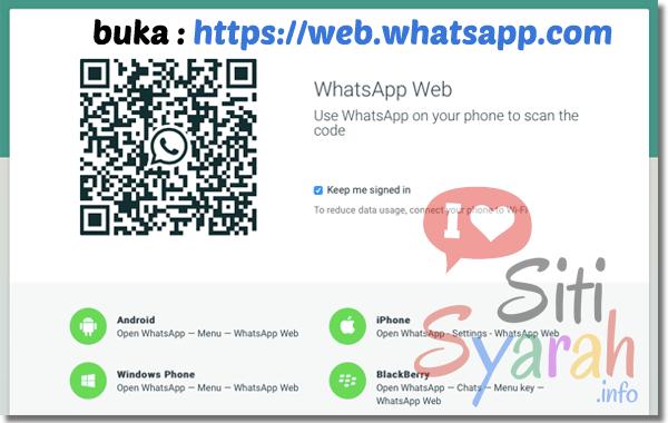 cara kirim whatsapp lewat komputer