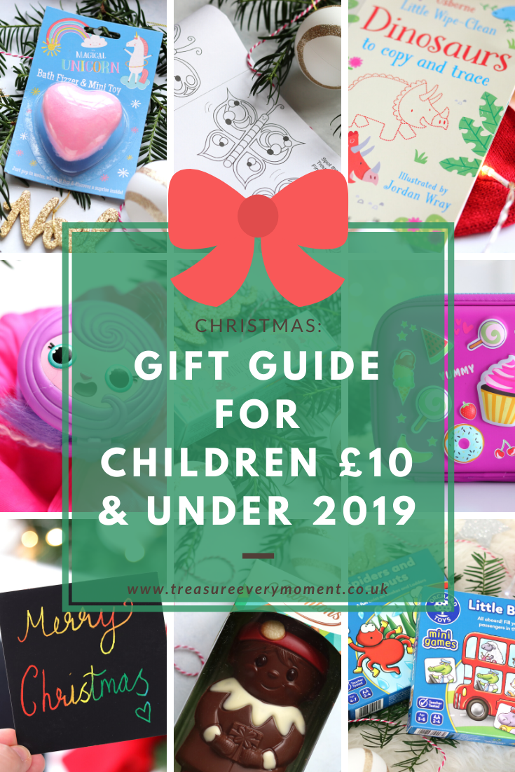 CHRISTMAS: Gift Guide for Children £10 and Under 2019
