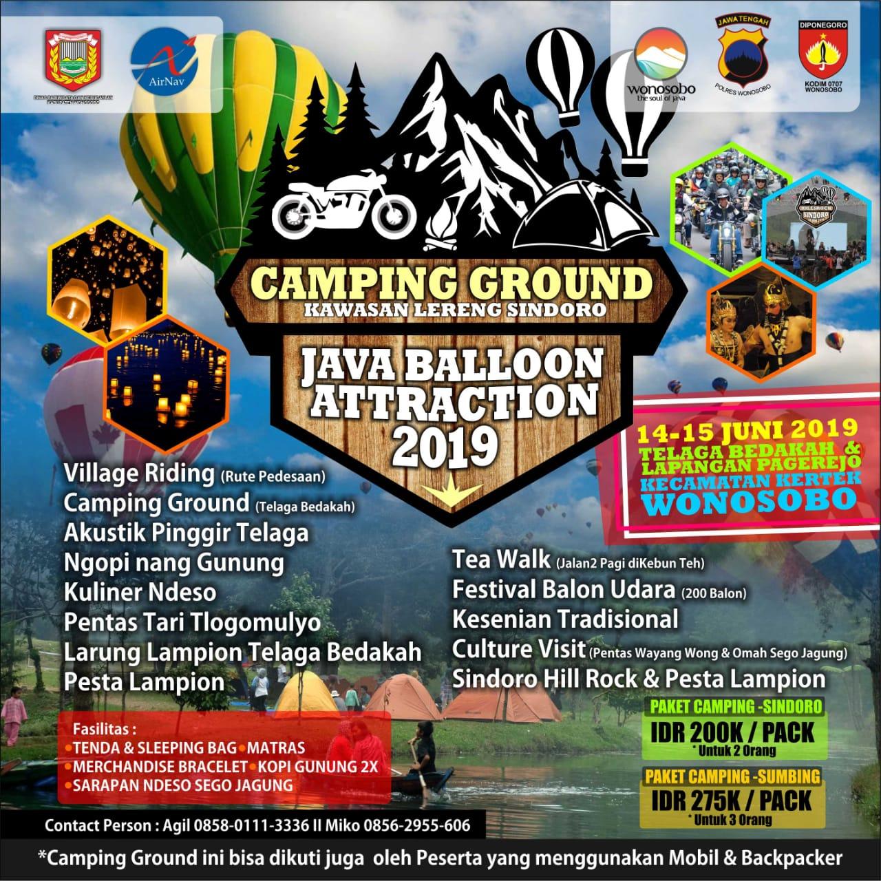 Sindoro Sumbing Riding dan Camping Ground