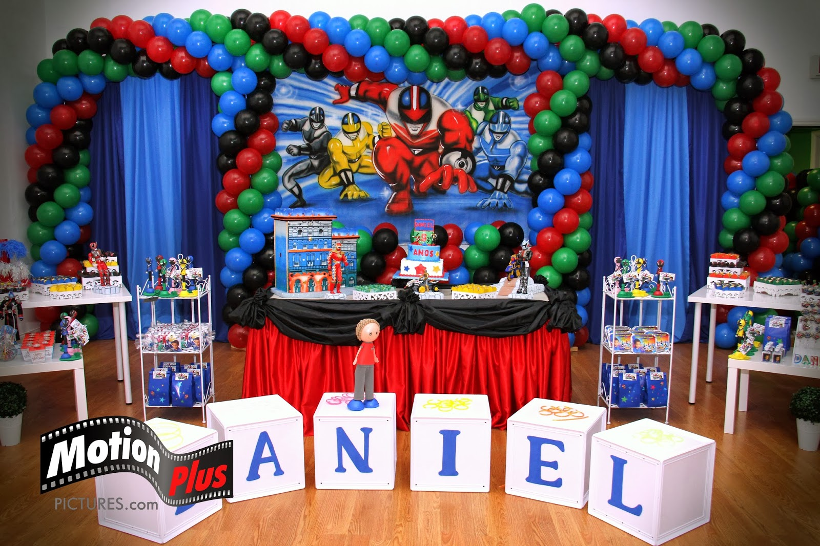 Motion Plus Pictures Transformers Themed Birthday Party Ideas