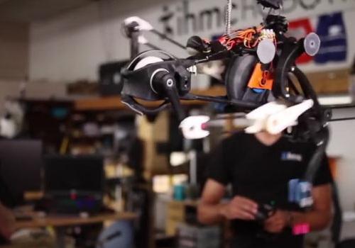 Tinuku.com IHMC's Planar Elliptical Runner, an ostrich-like bipedal robot