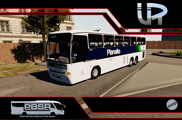 Skin Proton Bus Simulator Road - GV 1150 MB 0400 RSD Viação Planalto