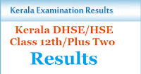 Kerala DHSE +2 Results