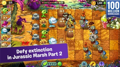 plants vs zombies 2 Jurassic Marsh Part 2
