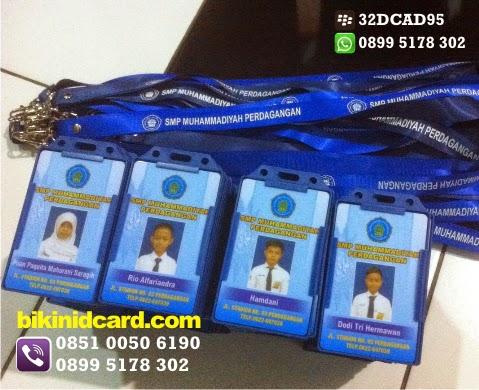 bikin tali id card murah