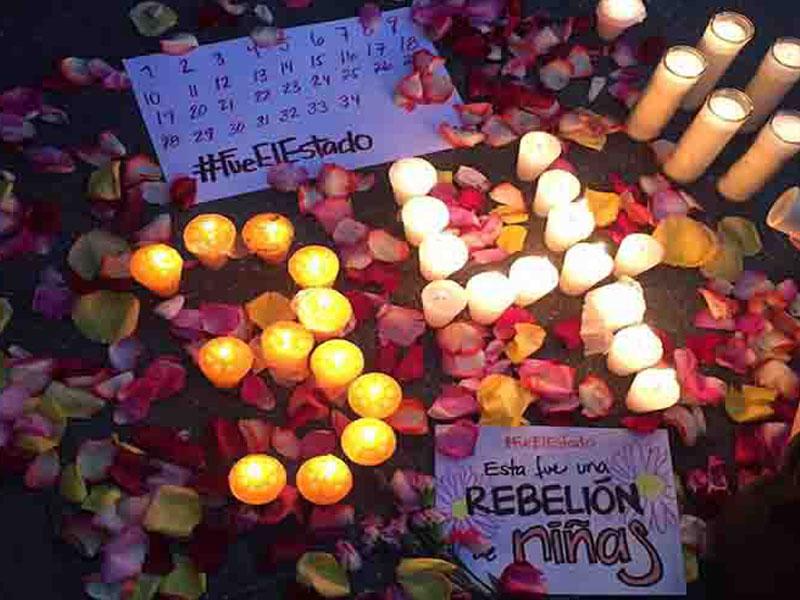 Pueblo de Guatemala alza la voz contra el Estado por muerte de niñas