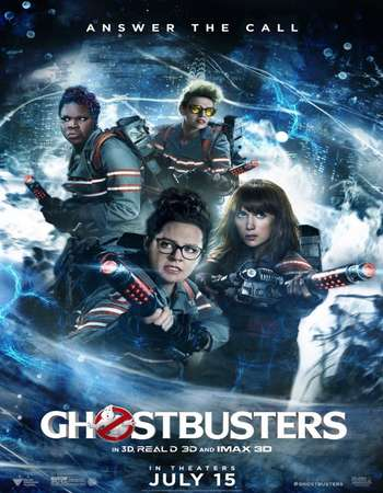 Poster Of Ghostbusters 2016 English 700MB TSRip x264 Free Download Watch Online Worldfree4u