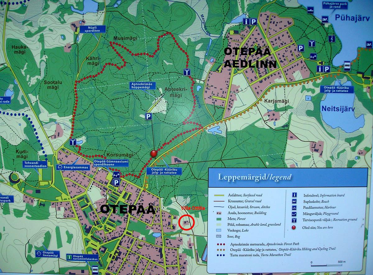 Suomalaisena Virossa Otepaa Ja 10 Ihmetta 7 Ihme Polut