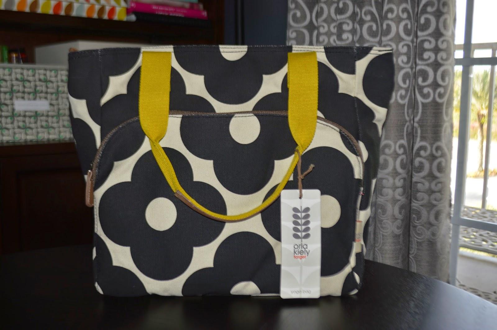 2880f13fcbd8 I Love Orla Kiely  Review  Orla Kiely for Target Yoga Bag