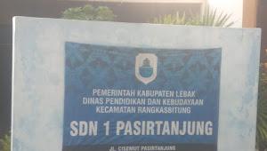 SDN 1 PASIR TANJUNG SERING DIBOBOL MALING