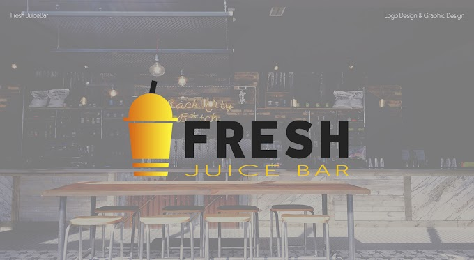 Logo Design Fresh Juice Bar