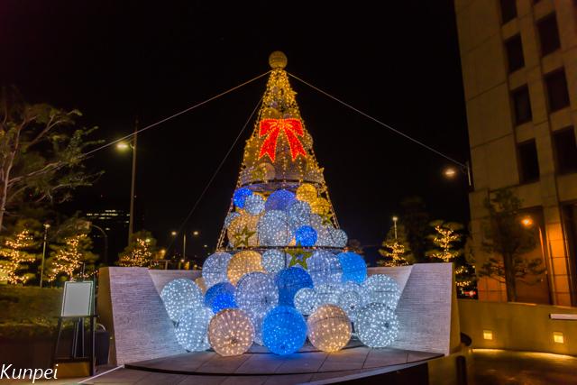 ザ・ペニンシュラ東京のクリスマスツリー