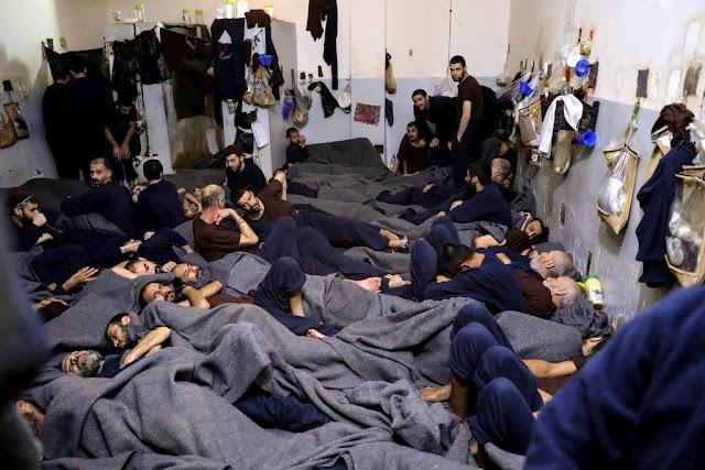 سجناء تنظيم الداعش يهددون المهمة الأمريكية في شمال شرق سوريا