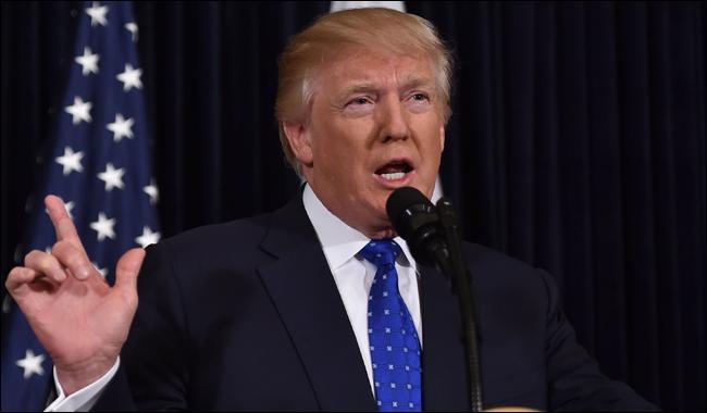 U.S. President Donald Trump's pick for Navy secretary withdraws