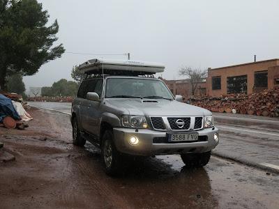 Nuestro coche en Marruecos