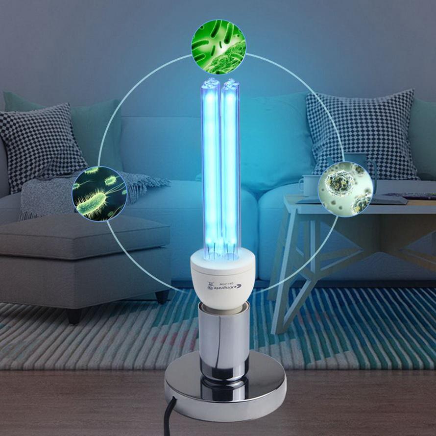 Защитите себя от вирусов: ультрафиолетовая лампа кварцевая бактерицидная для дома и офиса обеззараживание помещений от коронавируса и прочих тварей