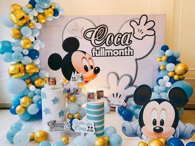 Thuê trang trí sinh nhật tại nhà cho bé Hà Nội