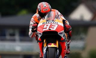 Marquez Pole Position MotoGP Jerman