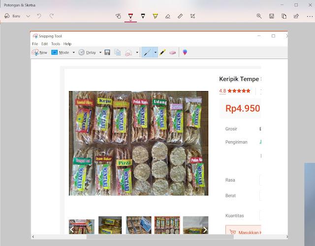 Cara Screenshoot layar laptop di windows 10