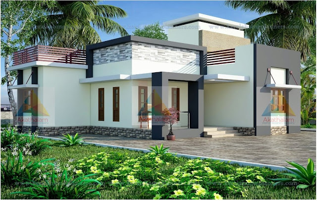 950 Sqft 2 Bedroom Home Design with Free Plan