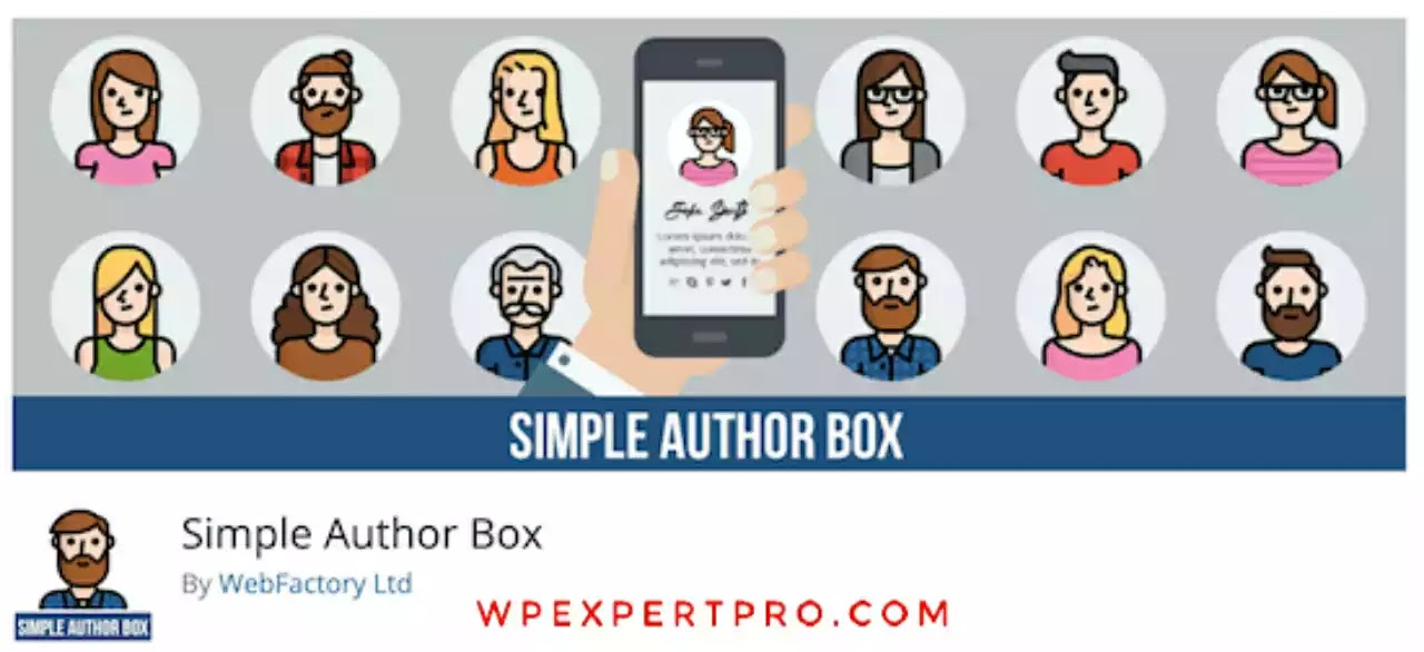 1. Simple Author Box