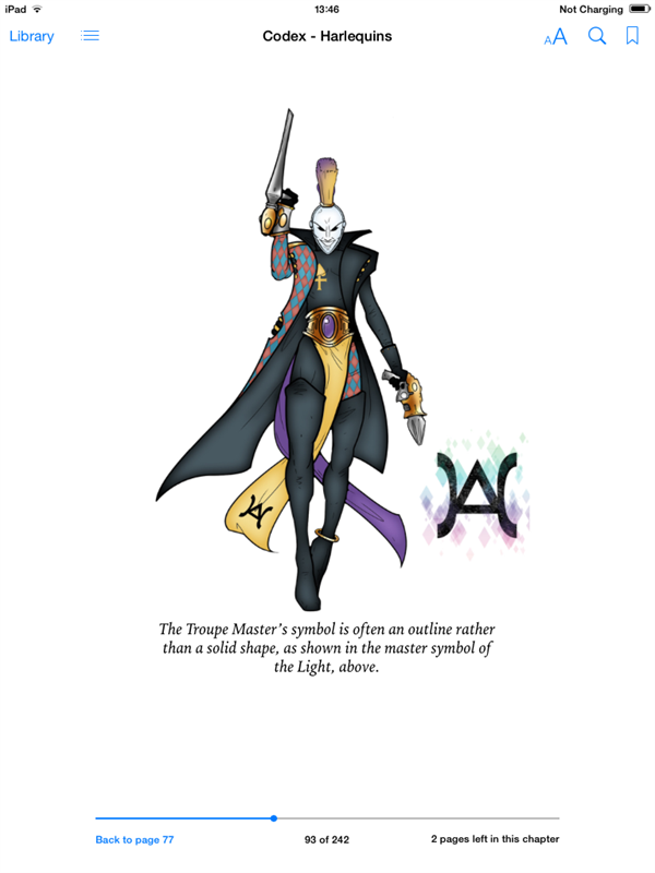 Codex Harlequins Pdf