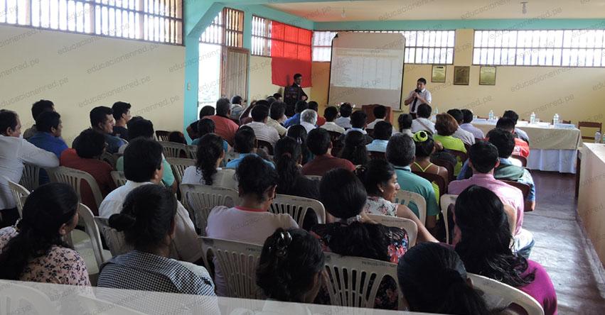 Solicitan nulidad de proceso de contratación docente en la UGEL Moyobamba tras denuncia de irregularidades en adjudicación