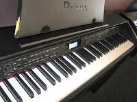 Casio PX780 digital piano control panel
