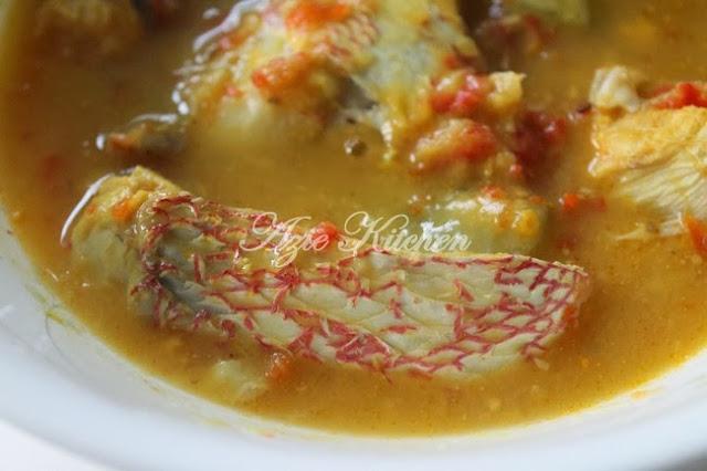 Ikan Merah Masak Tempoyak Perak