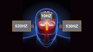 frecuencias de pulso binaural