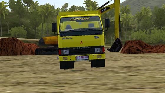 mod bussid truck ragasa dump