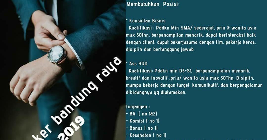 Lowongan Kerja PT. SG Indonesia Bandung Agustus 2019 ...