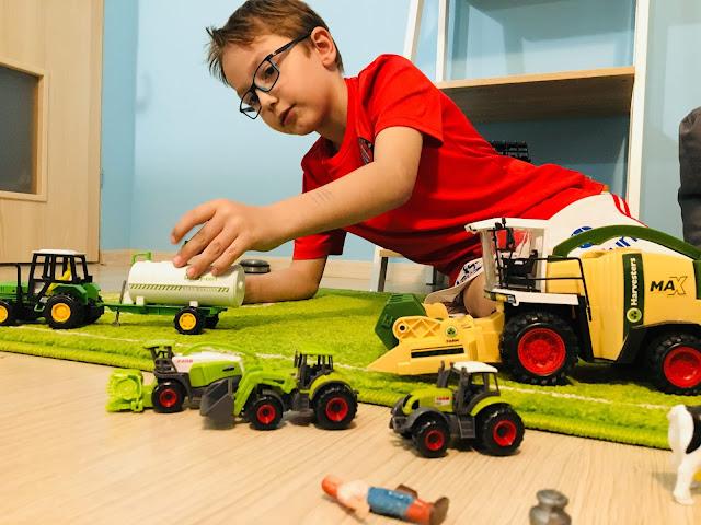 traktor dla chłopca
