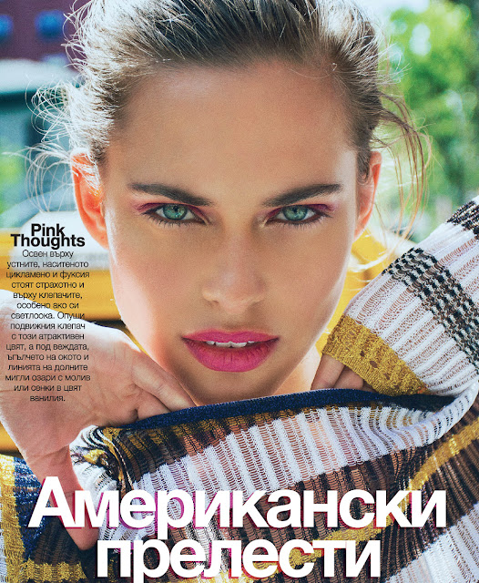 Fashion Model, @ Lana Zakocela by Elio Nogueira for Glamour Bulgaria, June 2016