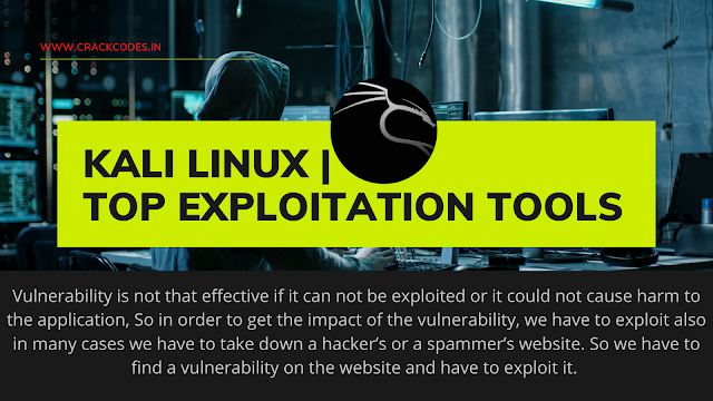 Kali Linux | Top Exploitation Tools