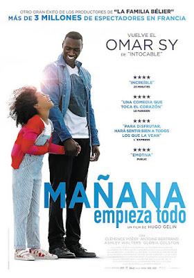 Cartel oficial español: Mañana empieza todo (2016)