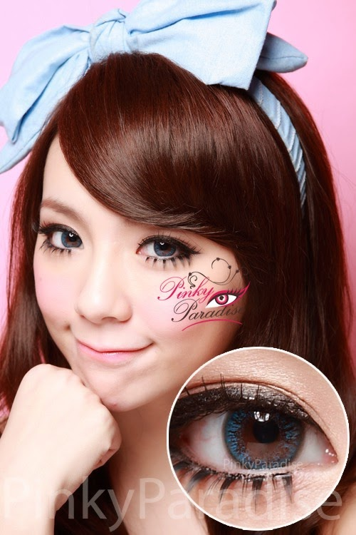 G Amp G Natural Blue Circle Lenses Colored Contacts