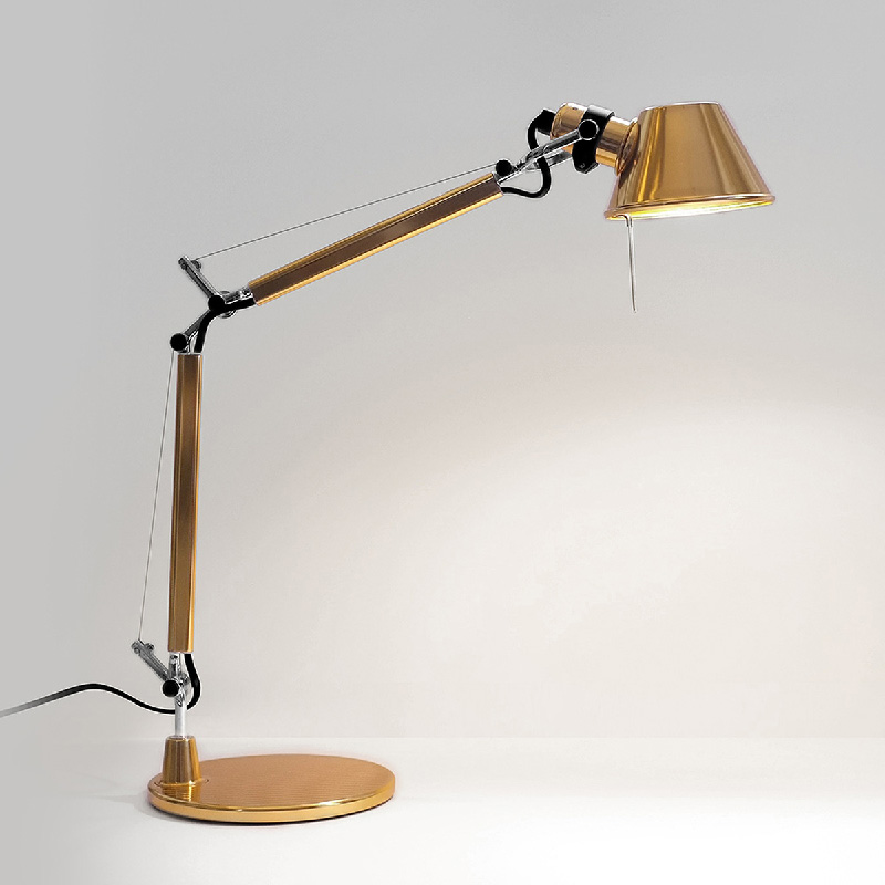 lampada da tavolo Tolomeo Gold
