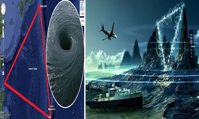 """علماء يقتربون من فك لغز """"مثلث برمودا""""  -  bermuda triangle mystery"""
