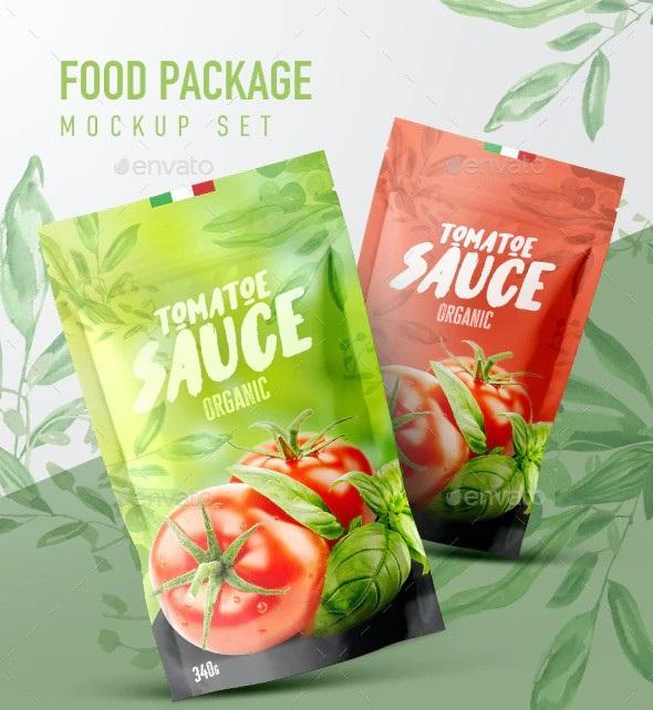Food Package Mockup 28449027
