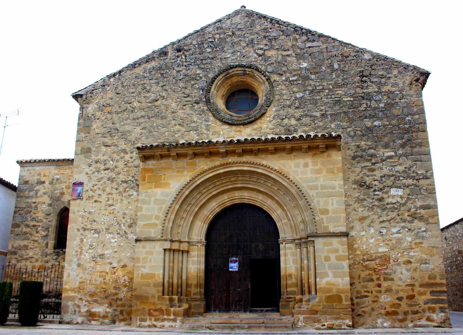 Iglesia de la Santa Cruz en Baeza, Portada de la iglesia de San Juan Bautista