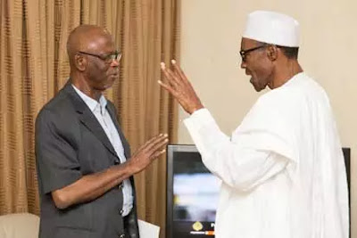 John Oyegun and President Buhari