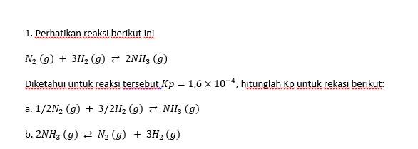 Ayo Belajar Kesetimbangan Kimia