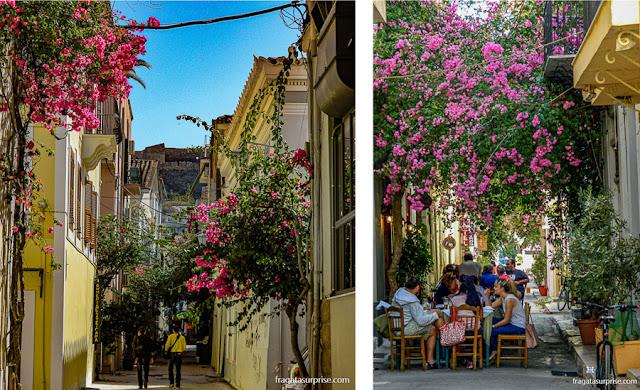 Ruas de Nafplio, Grécia
