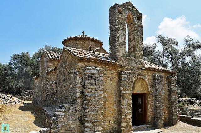 Iglesia St George Diasoritis en Halki, isla de Naxos (Grecia)