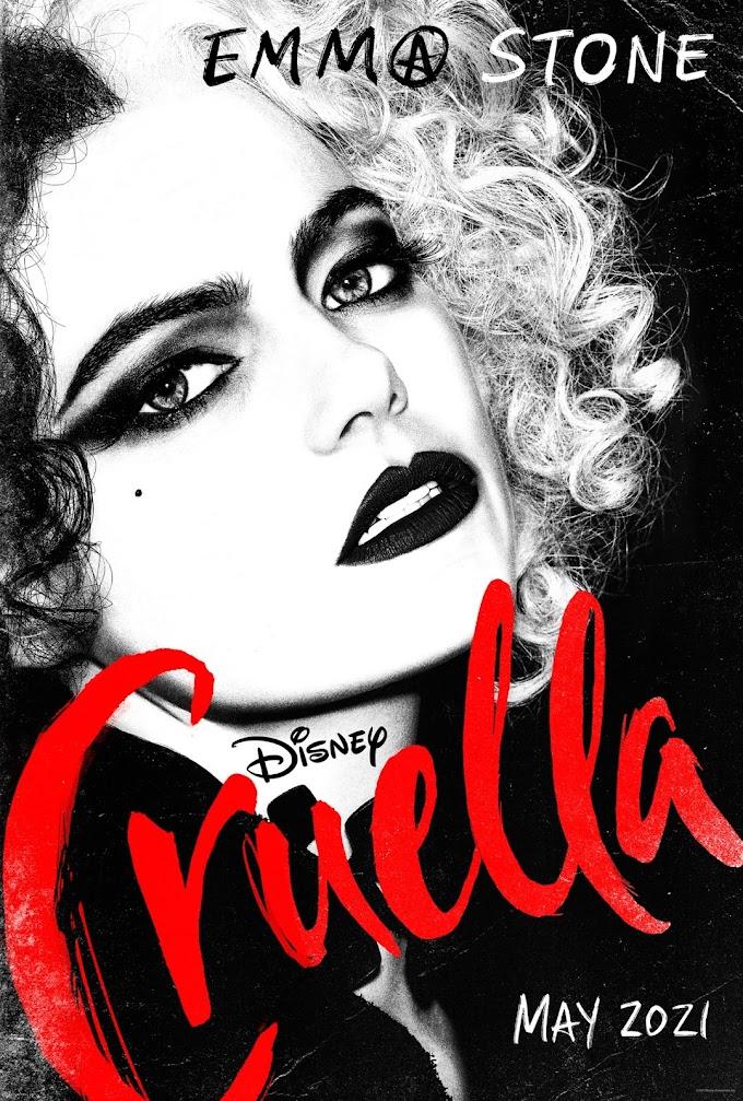 """Primeiro trailer de """"Cruella"""", com Emma Stone"""