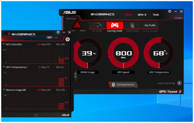ASUS GPU TweakII : Ανεβάστε την απόδοση της κάρτας γραφικών σας